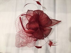 Brand new Beautiful feather fascinator hair clips on sale