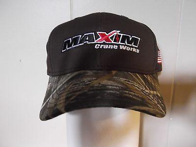 Maxim Crane Works Hat Realtree Max 5