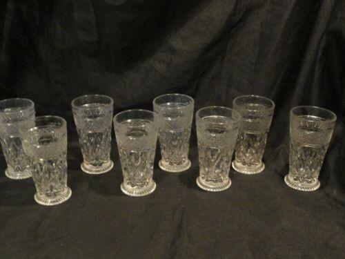 Imperial Glass Ohio Cape Cod 4 oz Juice Glasses Set of 8