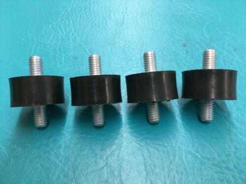 4 Noise Vibration Isolators Insulator Rubber Mounts Mini Split System A/C Heat