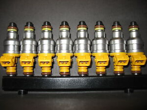 1996-2000 Chevrolet C2500 C3500 K2500 K3500 7.4L 454 Vortec Set 8 Fuel Injectors