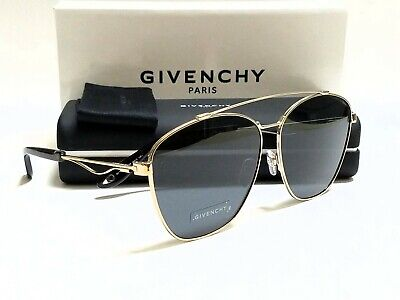 New Authentic GIVENCHY GV7049/S 3YG/IR Light Gold/Grey Lenses 65mm (Givenchy Men Sunglasses)