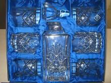BOHEMIA CRYSTAL 24% pbo Whisky Decanter Set - BOXED - UNUSED Pialba Fraser Coast Preview