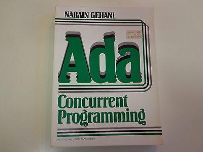 Ada Concurrent Programming 1984 Narain Gehani Computer Science