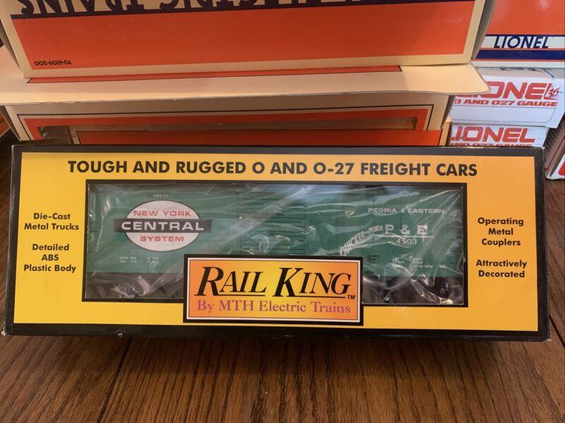 RAIL KING NEW YORK CENTRAL SEMI-SCALE BOX CAR #30-7414