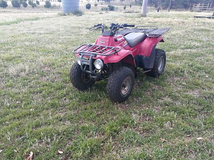 Kawasaki KLF 250 farm quad for sale