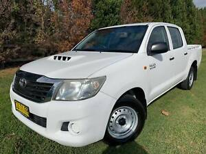 2012 Toyota Hilux SR TURBO DIESEL DUAL CAB 2WD Manual Ute Richmond Hawkesbury Area Preview