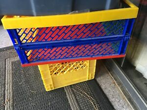 Milk crates $8