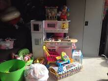 PRETEND PLAY KITCHEN PLUS 100'S OF ACCESSORIES, FOOD,TROLLEY ETC Bethania Logan Area Preview