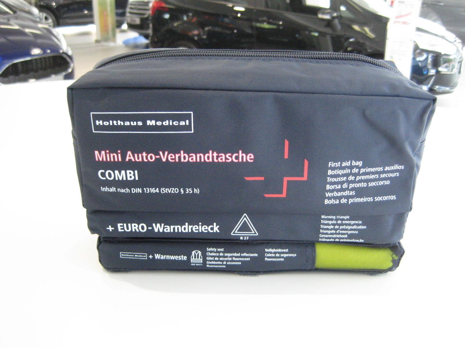 купить Holthaus Mini Auto Verbandtasche Mit Warndreieck Weste