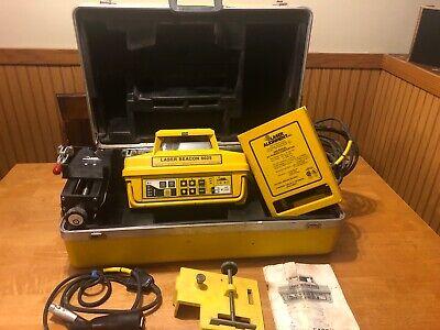 Laser Alignment Laser Beacon 6025 Manual Guards Case Mount