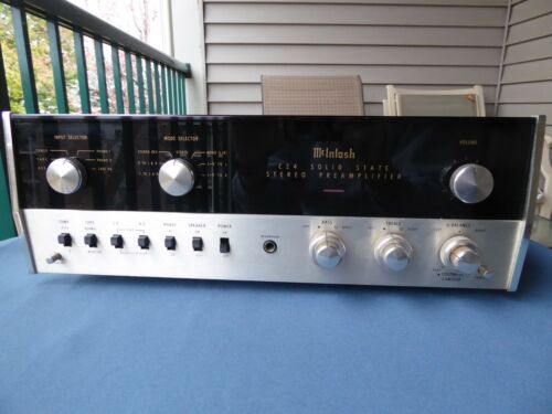 McIntosh C24 PreAmplifier, Nice condition, Recently Pro Serviced