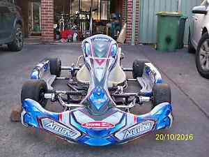 Arrow X3 2013 Kart Frame Only Bligh Park Hawkesbury Area Preview