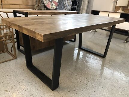 Solid Mango Wood Dining Table Brand New