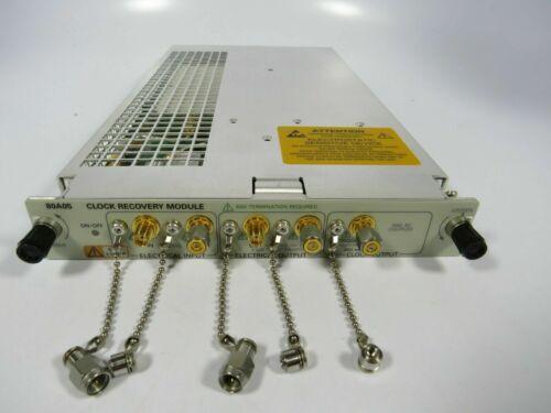 Tektronix 80A05 clock recovery module 8000 8200