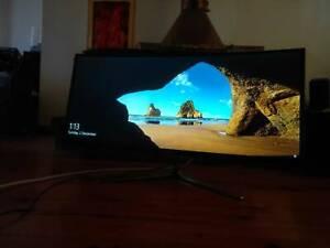LG 34UC97-S 34 21:9 UltraWide WQHD IPS Curved LED Monitor 3440x14