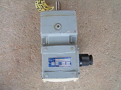 Stober Variable Speed Motor Reducer Type Rd11-3034-025-4 Rebuilt Vgc