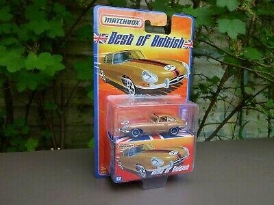 Matchbox Best Of British Jaguar E Type