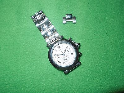 Cartier Pasha 38MM Chronograph In Excellent Condition