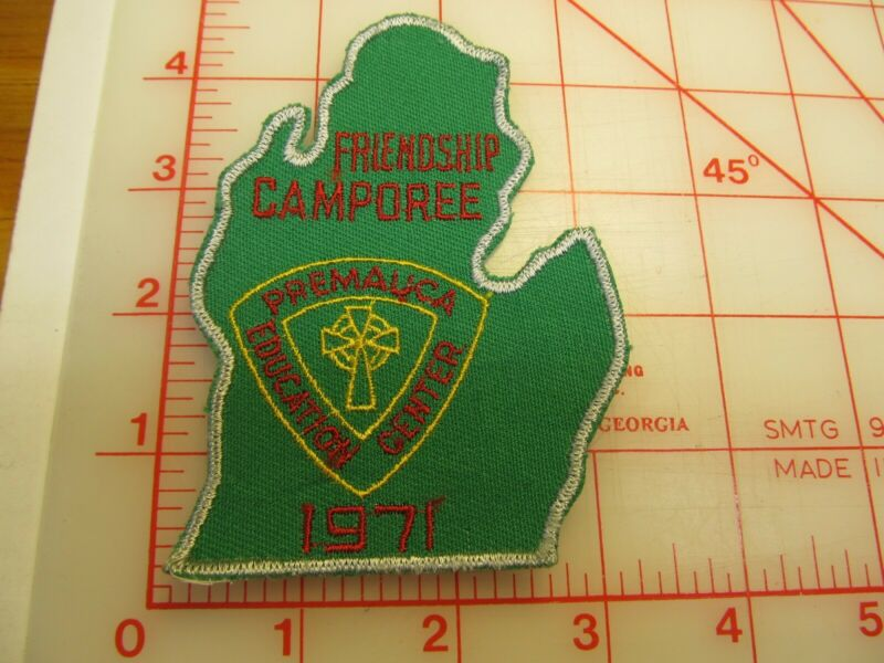1971 Friendship Camporee collectible patch (g4)