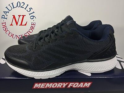 FILA Men's Startup Memory Foam Sneaker/Running Shoes ~ Black ~ Various Sizes ! !