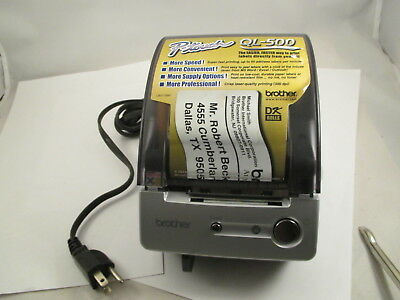 Brother P-touch Ql-500 Manual-cut Pc Label Printer