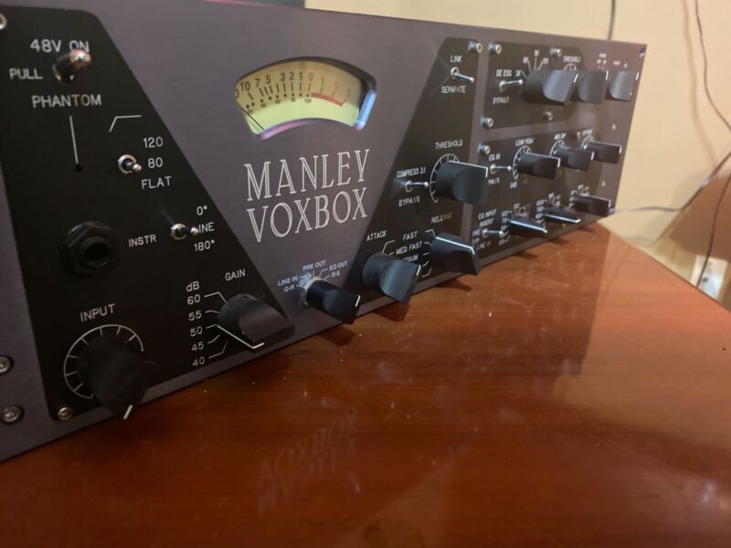 MANELY VOXBOX Channel Strip ****EXCELLENT CONDITION!!!!!!!!!!****.