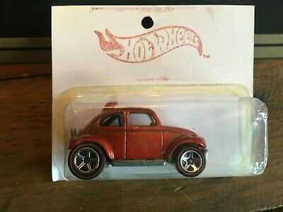 Hot Wheels 1:64 VW Volkswagen Baja Beetle Orange Redline Malaysia Mattel