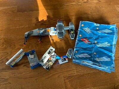 Lego Star Wars B-Wing at Rebel Control Center (7180) | About 97% Complete