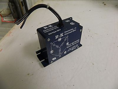 R-K Electric Co., Inc. RC Network, # RCY6A-30V, Used, Warranty