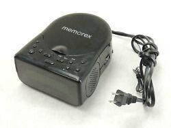Memorex Model MC7223 Clock Radio AM/FM Tuner CD Player Dual Alarm - TESTED