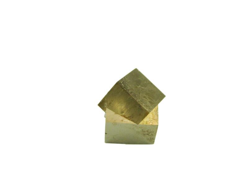 Navajun Spain Mine - Pyrite Cube Crystal With Display Case-#PC15
