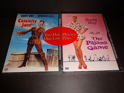 THE PAJAMA GAME & CALAMITY JANE-DORIS DAY movie 2-pack-JOHN RAITT, HOWARD KEEL