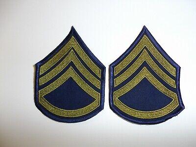 e2322 Korea US  Army Sergeant 1951-58 Chevrons pair R2E