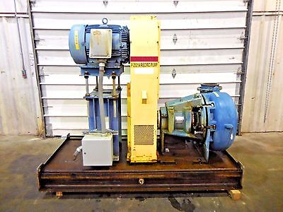 Rx-3597 Metso Mm250 Fhc-d C5 10 X 8 Slurry Pump W 40hp Motor And Frame