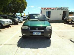 2001 FORD ESCAPE XLT AUTO 4X4 $3990