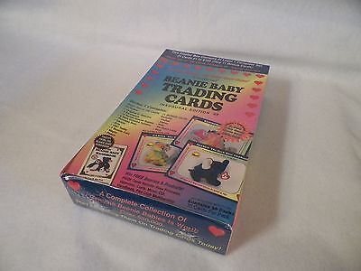 Beanie Baby Trading Cards Unopened Trading Card Pack Box Inaugural Edition