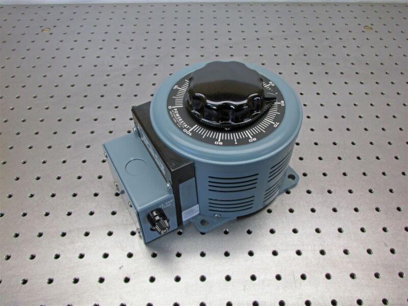 New Superior F126 Powerstat Variable Autotransformer Variac 15A 2.1KVA - D8403