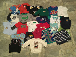 Everything for a baby boy! Clothes and accessories lot!