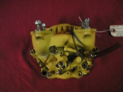 Seadoo XP SP GTX Yellow Engine Twin Carb Intake Manifold Oil Pump Rotary Cover