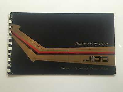 FAIRCHILD HILLER FH 1100 HELICOPTER MANUFACTURERS SALES BROCHURE 1970'S
