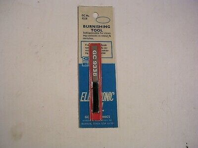 Gc Electronics 933b Burnishing Tool New