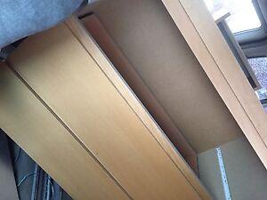 Ikea 3 drawer dresser beech commode