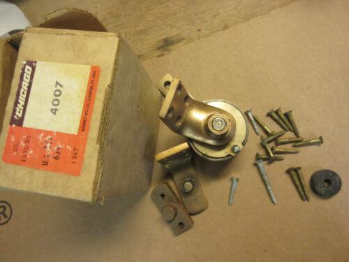 vintage chicago brass floor door closer US10 639 old door hardware