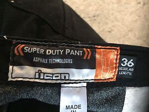 Icon Super Duty Motorcycle Riding Pant