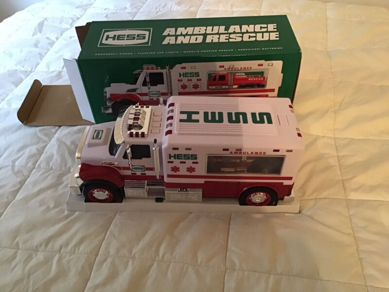 2020 Hess Toy Truck Ambulance & Rescue Truck - Mint and will arrive in Sealed Bx
