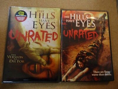 THE HILLS HAVE EYES 1 & 2 UNRATED WES CRAVEN HORROR BEST BUY EXCLUSIVE NICE! - Halloween 2 Best Buy
