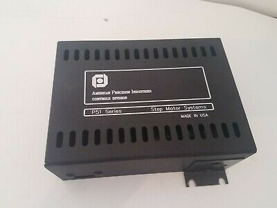 American Precision Institutions P51-do Step Motor Drive Controller Used