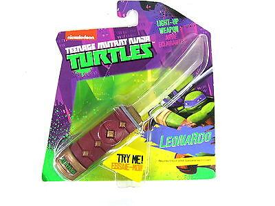 TMNT Teenage Mutant Ninja Turtle Light Up Mini weapon Kids Toy Leonardo Sword](Leonardo Ninja Turtle Weapon)