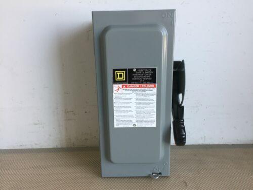 Square D H321n 30 Amp 240 Volt 3 Phase Fused Indoor Disconnect